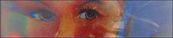 Foto detail einer Blauarbeit